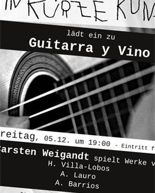 Guitarra y Vino