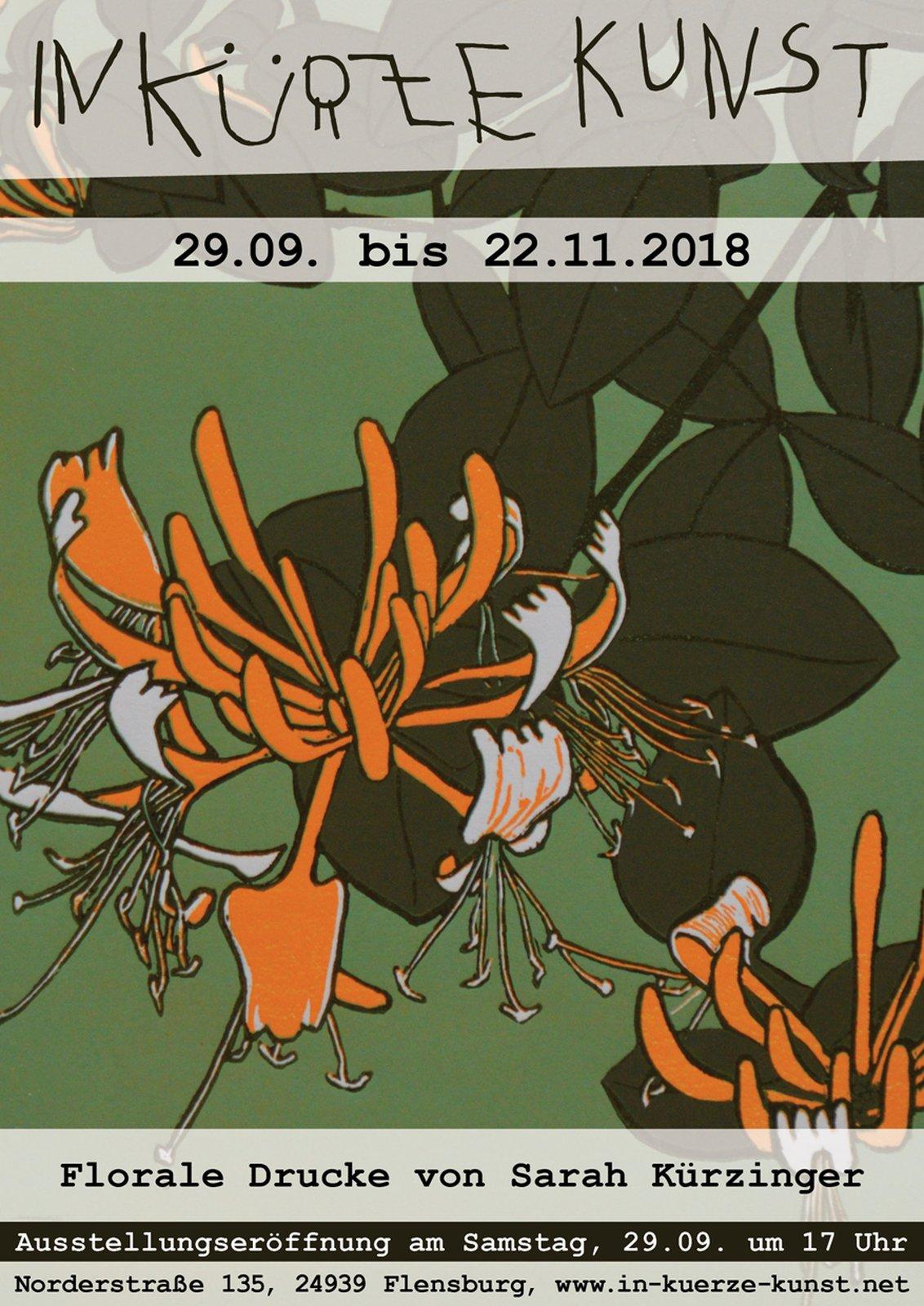 Florale Drucke von Sarah Kürzinger